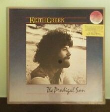 keith green  THE PRODIGAL SON  hype sticker  sealed  LP VINYL cover crease