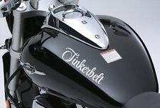 2x Custom Motorcycle Tank Helmet Cycle Name Decal Personalised Bike MTB Sticker