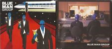 The Blue Man Group CD/DVD Lot (2) How To Be A Megastar & Audio (3) Disc!