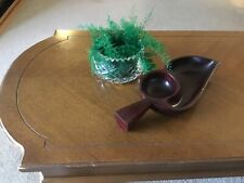 Vintage Wooden Serving Tray Handmade in Haiti