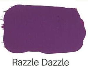 Chalk Paint Razzle dazzle Purple Shabby Chic Rustic Furniture Paint