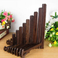 WOODEN DISPLAY STAND, WOOD EASEL PLATE DISPLAY PHOTO HOLDER STAND, DISPLAYS