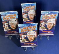 4 YOUNG GUNS! Hot PACKS 2020-21 Upper Deck Series 1 Hockey RC Lafreniere? Byram?