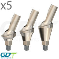 x5 Anatomic Angular Abutment 25° Conical NP, Active Hex, Dental Implants