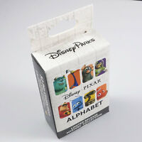 Disney trading pins Pixar Alphabet Mystery Set Box of 2 pins NEW SEALED 115923