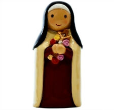 "St. Therese Lisieux Little Flower  ""Little Drops Of Water"" Statue Figure NEW"