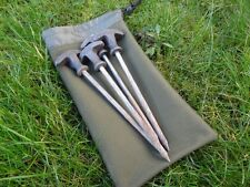 Bits peg bag made from green cordura fabric medium 10'x 6' carp fishing
