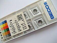 8 x CNMG120412-MR6 (CNMG 433-MR6) TP1501 SECO CARBIDE TURNING INSERTS P321