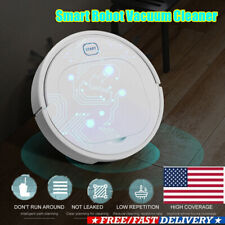 Sweeping Robot Vacuum Cleaner Floor Edge Dust Clean Auto Suction Smart Sweeper