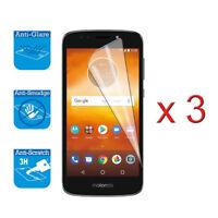 "For Motorola Moto E5 Play 5.2"" -  LCD Screen Protector Guard Film Foil x 3"