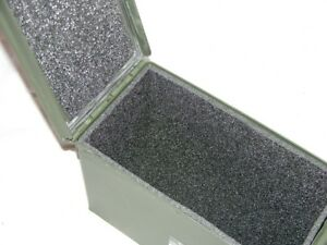 Precut military foam Liner Kit fits your 30cal 30 .30 cal caliber Steel Ammo Can