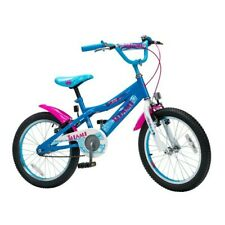 Kids 18 Inch Miami  Bike Children's Outdoor Ride On Bicycle + V-Brakes 6+