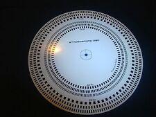 DISCO STROBO STROBOSCOPE SPEED DISC, DISCO STROBO  ITALY 50HZ 60 HZ  GIRADISCHI