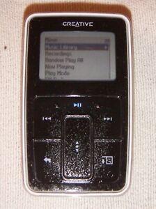 Creative ZEN Micro (6GB) Digital Media MP3 Player Black. Works great