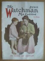 THE WATMAN MAGAZINE JUNE 1920  WITH 47 PAGES KEPT COMPLETE AND IN GOOD CONDITION