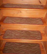 "16  Step  9"" x 30""  Stair Treads Staircase  WOOL BLEND CARPET ."