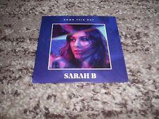 """Sarah b rare cd single promo 4 remixes """"down this way"""""""