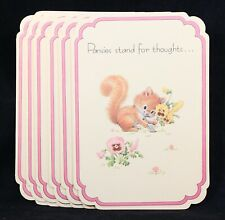 Six (6) Friendship Mother's Day Greeting Cards By Drawing Board Ruth Morehead
