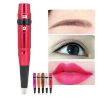 Electric Tattoo Microblading Pen Permanent Makeup Eyebrow Lip Eyeliner Machine