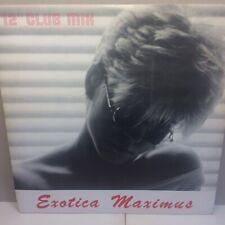 "EXOTICA MAXIMUS - Paint It Black / Western Fields UK 12"" VINYL 12 MVM 2 V. RARE"