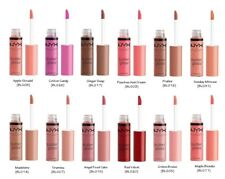 """US SELLER""NYX BUTTER GLOSS -PICK ANY 2 COLORS& MESSAGE US"