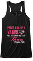 Proud Mom Of A Marine Top Bella Flowy Tank Tanktop