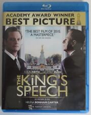 THE KING'S SPEECH BLU-RAY  -  PREVIOUSLY VIEWED                   (INV17653)