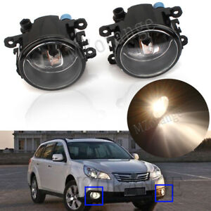 Left Right Front Fog Light Lamp For Subaru BRZ VX Impreza Outback Levorg Liberty