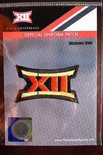 Official Licensed NCAA College Football Oklahoma State BIG 12 Conference Patch