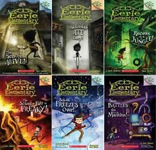 Scholastic Branches EERIE ELEMENTARY Series by Jack Chabert Paperbacks 1-6
