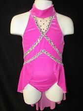 New! Beautiful Velvet Dance Jazz Tap Costume ~ Small Child