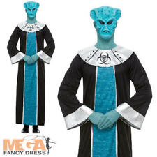 Alien Lord Mens Fancy Dress Space SciFi Extraterrestrial Adult Halloween Costume