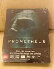 Prometheus Korea Bluray Steelbook, New/Sealed, Rare,  with booklet