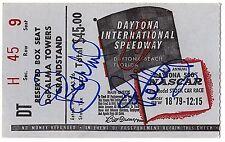 RICHARD PETTY Signed Autographed 1979 Daytona 500 Ticket, Winner, NASCAR, JSA