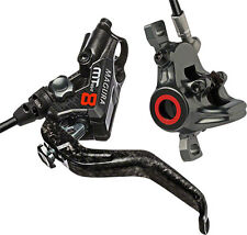 Magura MT8 Next 2-Piston Disc Brake/Lever Front or Rear with 2000 Hose Black/Red