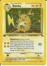 Pokemon TCG 1st Edition Riachu 14/62 - Mint - SAME DAY SHIPPING