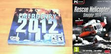 emergency 2012 & rescue helicopter 2014   new&sealed