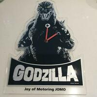 Godzilla Wall Clock Not for Sale Watch Vintage Collector Rare Anime