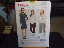 Burda 6694 Misses Shirt & Dress Pattern - Size 8-20
