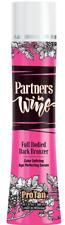 Pro Tan Partners in Wine Dark Bronzer Indoor Tanning Bed Lotion Size 10.1 oz