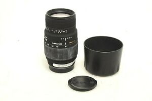 Used Sigma 70-300mm Lens F4-5.6 APO-M DG for Sony A Zoom Telephoto (SH34949)