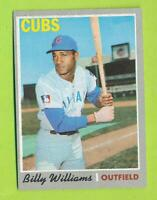 1970 Topps - Billy Williams (#170)  Chicago Cubs *