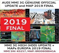 AUDI Q5, Q7 MMI 3G UPDATE SET 2019 FINAL + MAPs, MMI 3G HIGH (HDD), 8R0060884GA