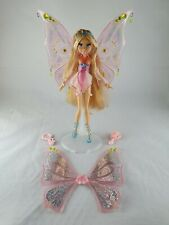 Winx Club Flora Glam Magic Enchantix Doll 2007 MATTEL RARE