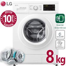 LG Waschmaschine 8kg Frontlader 1400 U/min Direktantrieb Inverter Aqua Stopp