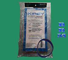 3 pk Kirby G3 G4 G5 G6 G7  197294 Bag Vacuum Cleaner Bags + 1 Belt Genuine