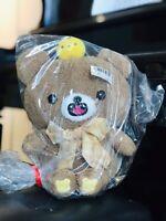 Brand New Toreba Koguma Rilakkuma San-x Fangs kiiroitori Bee Plush Japan Bow