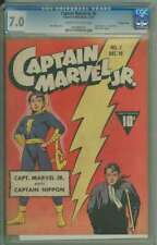 CAPTAIN MARVEL JR. #2 CGC 7.0 CR/OW PAGES