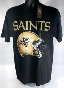 New Orleans Saints Super Bowl XLIV Champions Reebok Helmet Grass Shirt Sz M New!