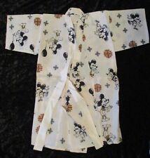 Vintage 1940/1950 Boy's Mickey Mouse/Steamboat Willie Cartoon Kimono Robe